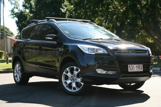 Used Ford Kuga TF Trend PwrShift AWD, 2013 Ford Kuga TF Trend PwrShift AWD Black 6 Speed Sports Automatic Dual Clutch Wagon