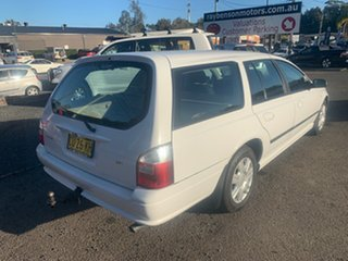 2006 Ford Falcon BA White 4 Speed Automatic Wagon.