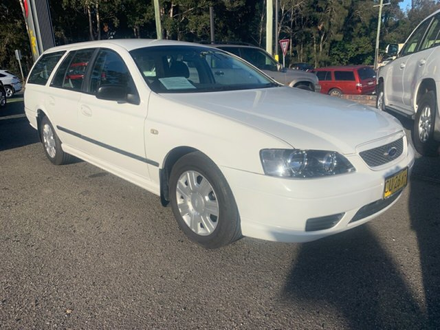 Used Ford Falcon BA , 2006 Ford Falcon BA White 4 Speed Automatic Wagon