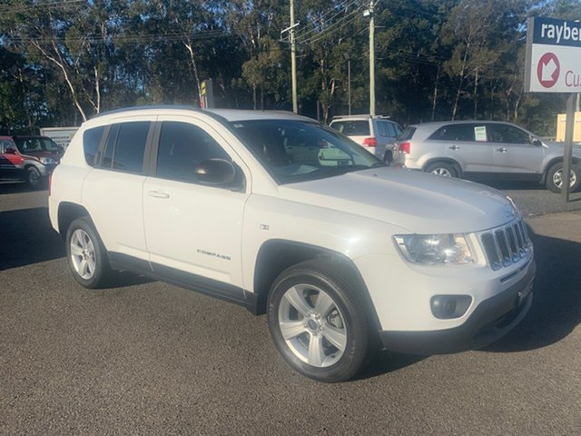 Used Jeep Compass  2, 2011 Jeep Compass SPORT  AUTO 2.0 White 6 Speed Automatic Wagon