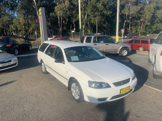 2006 Ford Falcon BA White 4 Speed Automatic Wagon