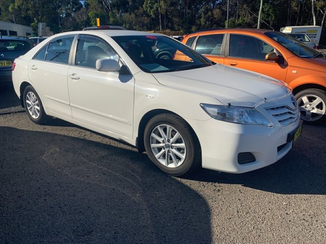 Used Toyota Camry ACV40R 09 Upgrade Altise, 2010 Toyota Camry ACV40R 09 Upgrade Altise White 5 Speed Automatic Sedan