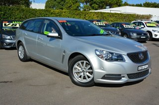 2015 Holden Commodore VF MY15 Evoke Sportwagon Silver 6 Speed Sports Automatic Wagon