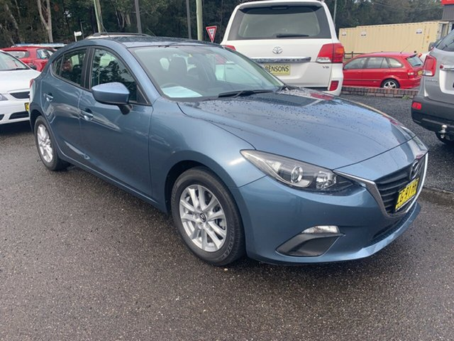 Used Mazda 3  , 2015 Mazda 3 NEO BM  2.0 auto Blue 6 Speed Automatic Hatchback