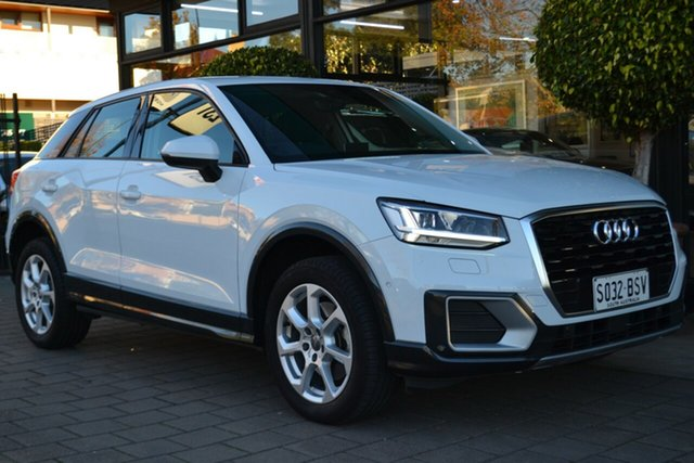 Used Audi Q2 GA MY18 design S Tronic, 2018 Audi Q2 GA MY18 design S Tronic White 7 Speed Sports Automatic Dual Clutch Wagon
