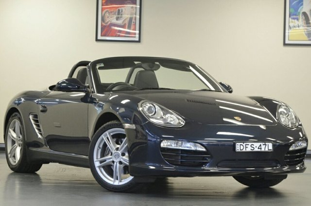 Used Porsche Boxster 987 MY10 PDK, 2010 Porsche Boxster 987 MY10 PDK Blue 7 Speed Sports Automatic Dual Clutch Convertible
