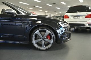 2019 Audi S3 8V MY19 S Tronic Quattro Mythos Black 7 Speed Sports Automatic Dual Clutch Cabriolet