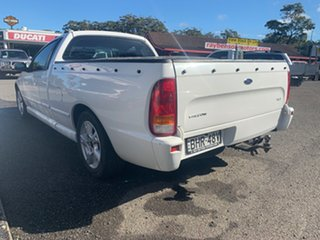 2005 Ford Falcon BA GLS White 4 Speed Automatic Utility.
