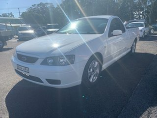 2005 Ford Falcon BA GLS White 4 Speed Automatic Utility