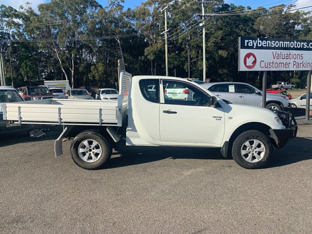 Used Mitsubishi Triton MY11 , 2011 Mitsubishi Triton MY11 GXL 4X4 2.5 TURBO DIESEL White 5 Speed Manual Spacecab