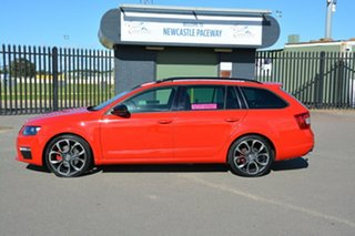 2016 Skoda Octavia NE MY16 RS DSG 135TDI Red 6 Speed Sports Automatic Dual Clutch Wagon