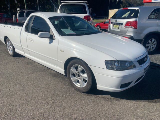 Used Ford Falcon BA GLS, 2005 Ford Falcon BA GLS White 4 Speed Automatic Utility
