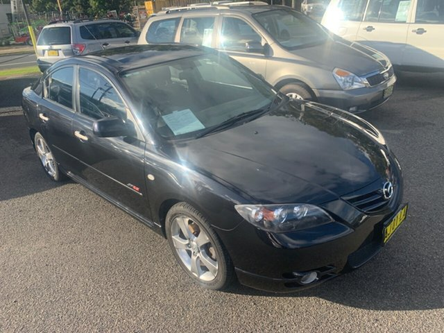 Used Mazda 3  SP23, 2005 Mazda 3 SP23 Black 5 Speed Sedan