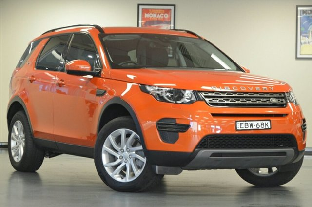 Used Land Rover Discovery Sport L550 17MY TD4 180 SE, 2017 Land Rover Discovery Sport L550 17MY TD4 180 SE Phoenix Orange 9 Speed Sports Automatic Wagon