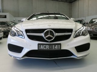 2014 Mercedes-Benz E400 A207 805MY 7G-Tronic + Polar White 7 Speed Sports Automatic Cabriolet