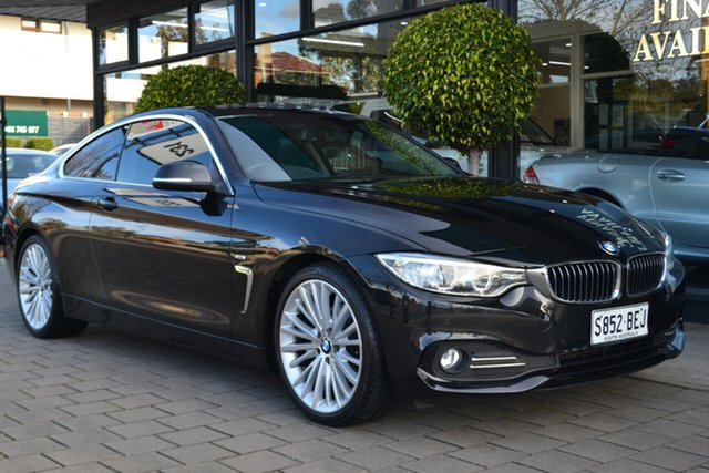 Used BMW 420d F32 Luxury Line, 2015 BMW 420d F32 Luxury Line Black 8 Speed Sports Automatic Coupe
