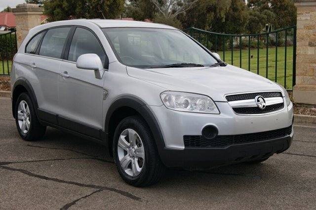 Used Holden Captiva CG MY09 LX (4x4), 2009 Holden Captiva CG MY09 LX (4x4) Silver 5 Speed Automatic Wagon
