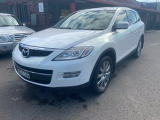 2009 Mazda CX-9 TB10A1 LUXURY  7 seater 3.7 White 6 Speed Automatic Wagon.