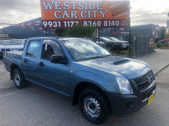 Used Holden Rodeo RA MY07 LX, 2007 Holden Rodeo RA MY07 LX 5 Speed Manual Crew Cab Pickup