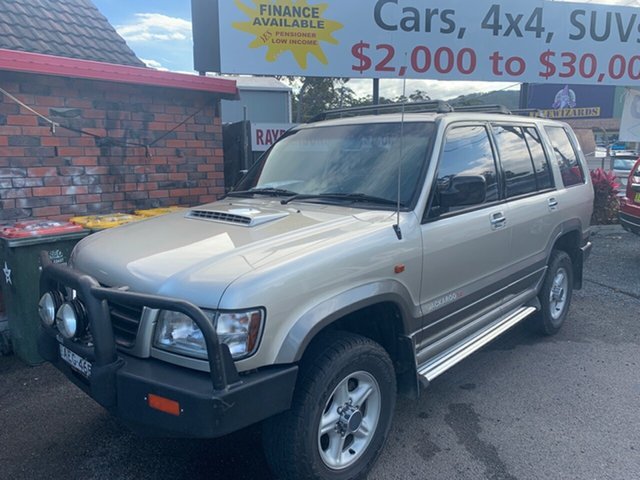 Used Holden Jackaroo  Turbo Diesel, 2000 Holden Jackaroo SE 7 SEATER 4X4 Turbo Diesel Gold 5 Speed Manual Wagon