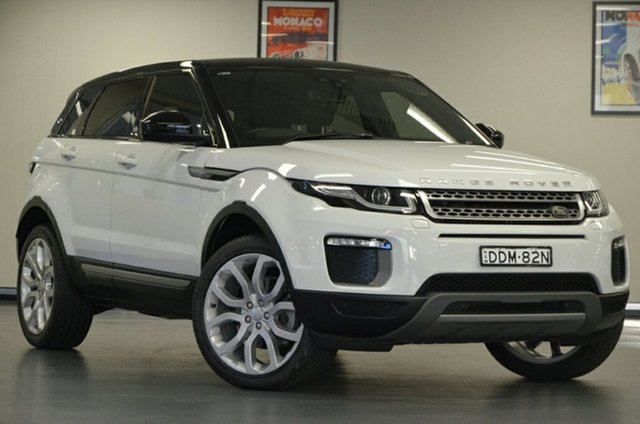 Used Land Rover Range Rover Evoque L538 MY16.5 TD4 150 SE, 2016 Land Rover Range Rover Evoque L538 MY16.5 TD4 150 SE White 9 Speed Sports Automatic Wagon