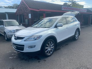 2009 Mazda CX-9 TB10A1 LUXURY  7 seater 3.7 White 6 Speed Automatic Wagon