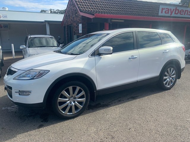 Used Mazda CX-9  , 2009 Mazda CX-9 TB10A1 LUXURY  7 seater 3.7 White 6 Speed Automatic Wagon