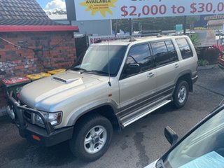 2000 Holden Jackaroo SE 7 SEATER 4X4 Turbo Diesel Gold 5 Speed Manual Wagon