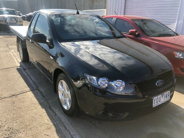 Used Ford Falcon FG Upgrade , 2011 Ford Falcon FG Upgrade Black 6 Speed Auto Seq Sportshift Cab Chassis