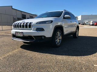 2014 Jeep Cherokee KL Limited White 9 Speed Sports Automatic Wagon