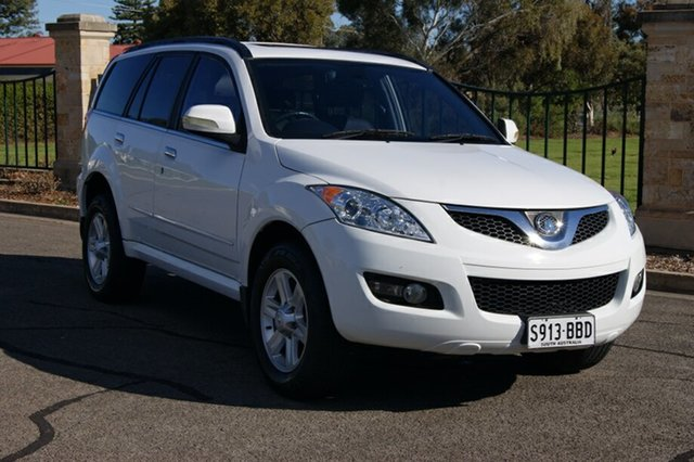 Used Great Wall X240 CC6461KY MY11 (4x4), 2011 Great Wall X240 CC6461KY MY11 (4x4) White 5 Speed Manual Wagon