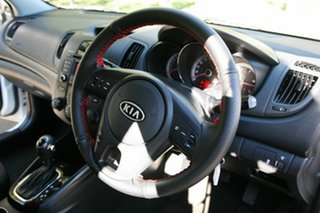 2012 Kia Cerato TD MY13 SI White 6 Speed Sports Automatic Hatchback