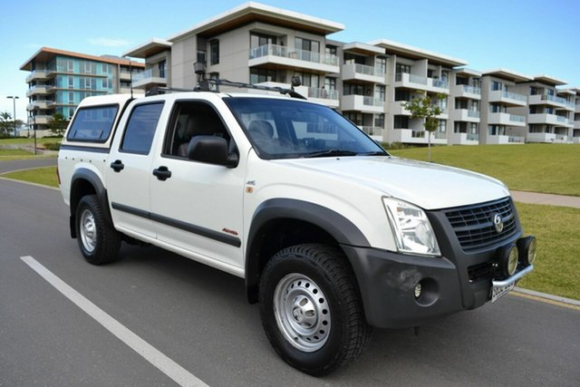 Used Holden Rodeo RA MY07 LX Crew Cab, 2007 Holden Rodeo RA MY07 LX Crew Cab White 4 Speed Automatic Utility