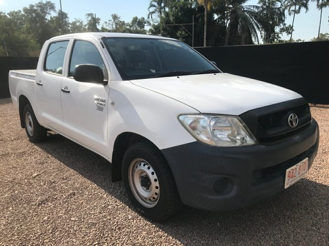 Used Toyota Hilux TGN16R MY09 Workmate 4x2, 2009 Toyota Hilux TGN16R MY09 Workmate 4x2 White 5 Speed Manual Utility