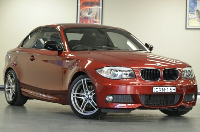 Used BMW 120i E82 LCI MY1112 Steptronic, 2013 BMW 120i E82 LCI MY1112 Steptronic Vermillion Red 6 Speed Sports Automatic Coupe