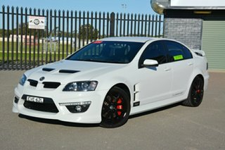 2010 Holden Special Vehicles ClubSport E Series 3 R8 White 6 Speed Sports Automatic Sedan.