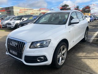 2011 Audi Q5 8R MY11 3.0 TDI Quattro White 7 Speed Auto Dual Clutch Wagon.