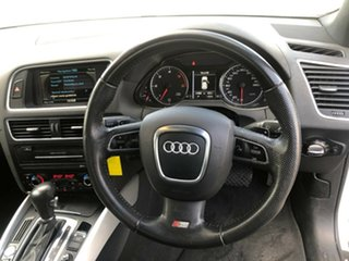2011 Audi Q5 8R MY11 3.0 TDI Quattro White 7 Speed Auto Dual Clutch Wagon