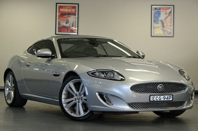 Used Jaguar XK X150 MY12 , 2011 Jaguar XK X150 MY12 Silver 6 Speed Sports Automatic Coupe
