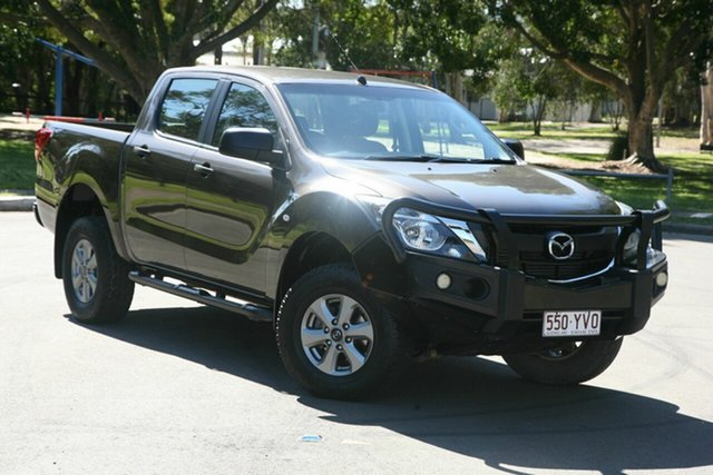 Used Mazda BT-50 UR0YF1 XT, 2016 Mazda BT-50 UR0YF1 XT Grey 6 Speed Manual Cab Chassis