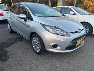 2011 Ford Fiesta LX Silver 5 Speed Hatchback