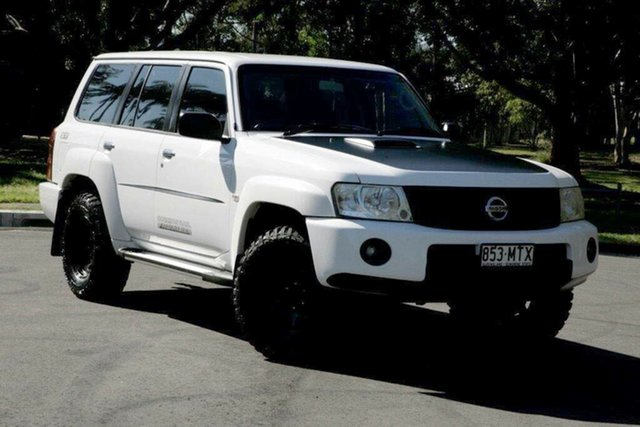 Used Nissan Patrol GU 7 MY10 ST, 2010 Nissan Patrol GU 7 MY10 ST White 4 Speed Automatic Wagon