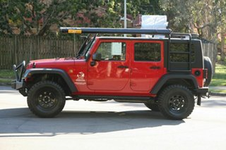 2010 Jeep Wrangler JK MY2010 Unlimited Sport Red 6 Speed Manual Softtop