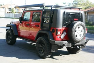 2010 Jeep Wrangler JK MY2010 Unlimited Sport Red 6 Speed Manual Softtop.