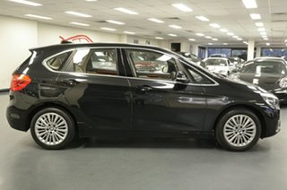 2015 BMW 2 Series F45 218d Active Tourer Steptronic Luxury Line Black 8 Speed Automatic Hatchback.