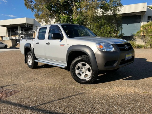 Used Mazda BT-50 UNY0E4 DX 4x2, 2010 Mazda BT-50 UNY0E4 DX 4x2 Silver 5 Speed Automatic Utility