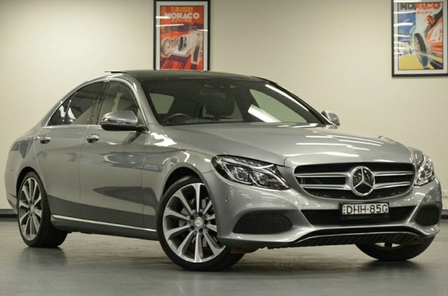 Used Mercedes-Benz C-Class W205 807MY C250 d 7G-Tronic +, 2016 Mercedes-Benz C-Class W205 807MY C250 d 7G-Tronic + Selenite Grey 7 Speed Sports Automatic