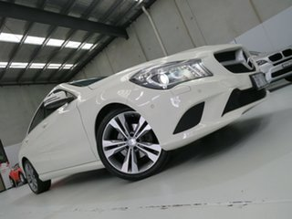 2014 Mercedes-Benz CLA200 C117 DCT Ibis White 7 Speed Sports Automatic Dual Clutch Coupe.