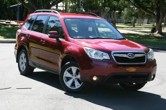 Used Subaru Forester S4 MY15 2.5i-L CVT AWD, 2015 Subaru Forester S4 MY15 2.5i-L CVT AWD Red 6 Speed Constant Variable Wagon