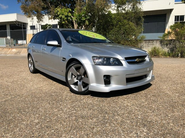 Used Holden Commodore VE MY09 SS V Sportwagon, 2008 Holden Commodore VE MY09 SS V Sportwagon Silver 6 Speed Sports Automatic Wagon
